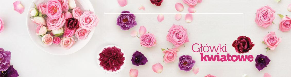 Baner - Sztuczne główki kwiatowe