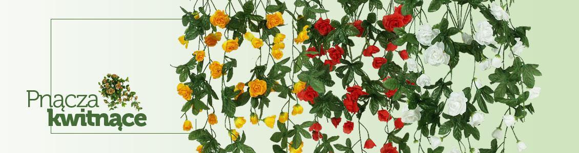Baner - Sztuczne kwiaty zwisające