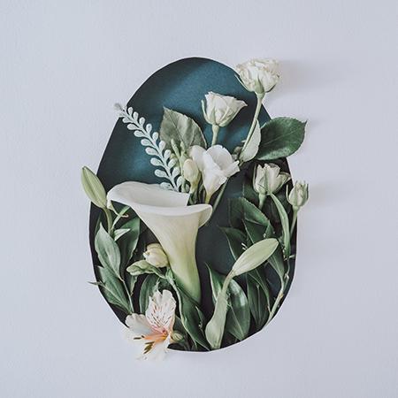 dekoracje wielkanocne z kwiatów