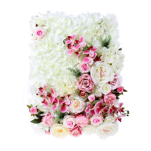 kwiaty do ścianki ślubnej