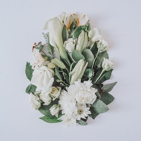 pisanka z kwiatów