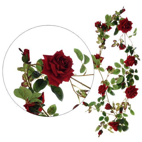 sztuczne różane pnącza