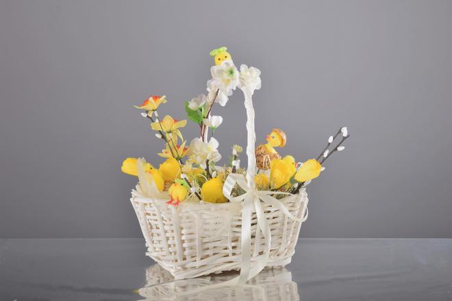 Szukasz pomysłu na wystrój koszyczka Wielkanocnego?