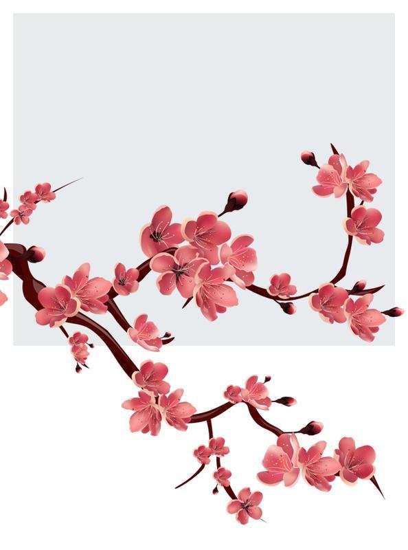 Gałązki kwiatowe