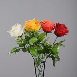 Róża pik z dekoracją - gałązka (K030)