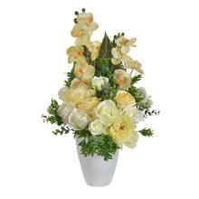 Kompozycja kwiatowa ze storczykiem (NN182)