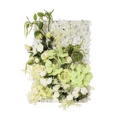 Mata kwiatowa zielona (NN752)