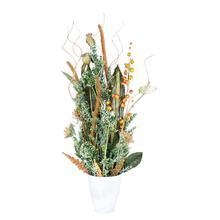 Kompozycja kwiatowa Zielona bez kwiatów (NN284)