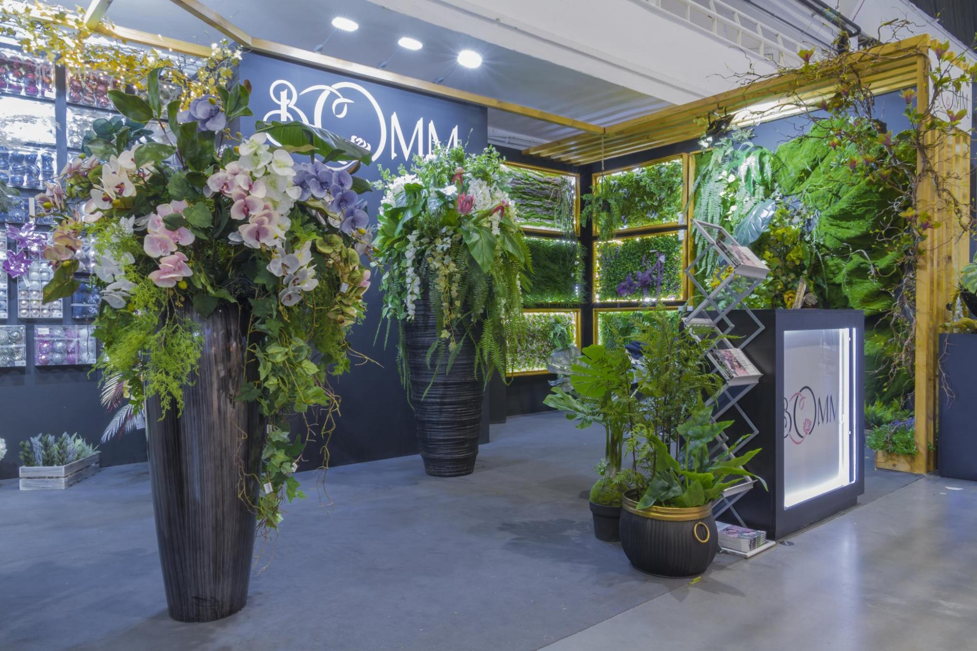 Scenografia targowa na Special days - florystyka i dekoracje